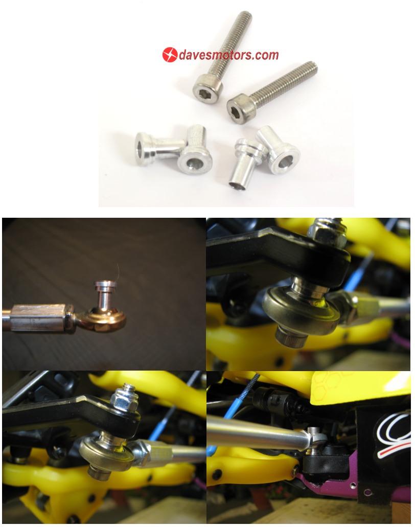 Irp standoff turnbuckle spacer kit for hpi baja b t