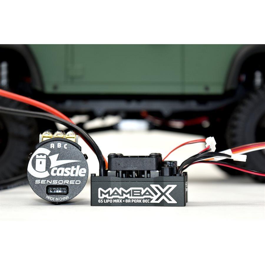 MAMBA X 25 2V WP ESC 1406-2850Kv Sensored Combo (CSE010015510)